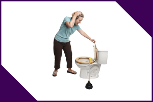 How do you fix a slow flushing toilet?